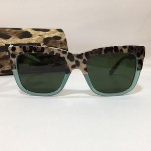 Dolce & Gabbana Leopard Sunglasses